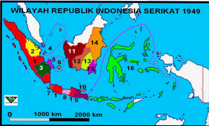 Hasil gambar untuk republik indonesia serikat