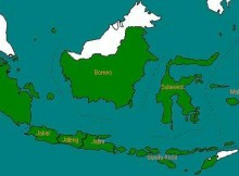 8 provinsi awal di Indonesia