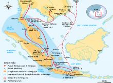 Peta pusat kerajaan Sriwijaya 5