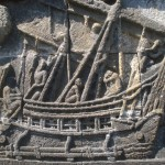 relief perahu