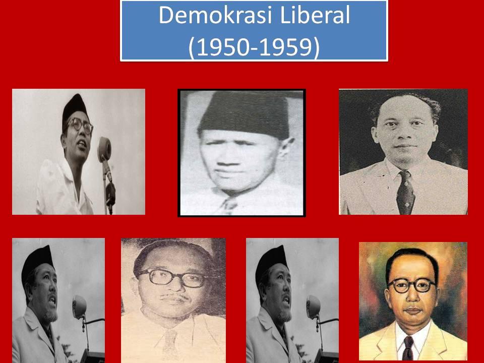 Apa yang dimaksud dengan demokrasi parlementer dan liberal