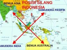 letak geografi indonesia