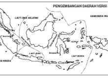 peta pendudukan jepang di indonesia