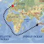 peta rute perjalanan belanda
