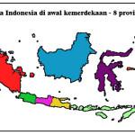 8 provinsi awal kemerdekaan