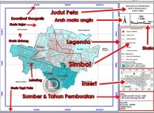 Komponen Dalam Peta