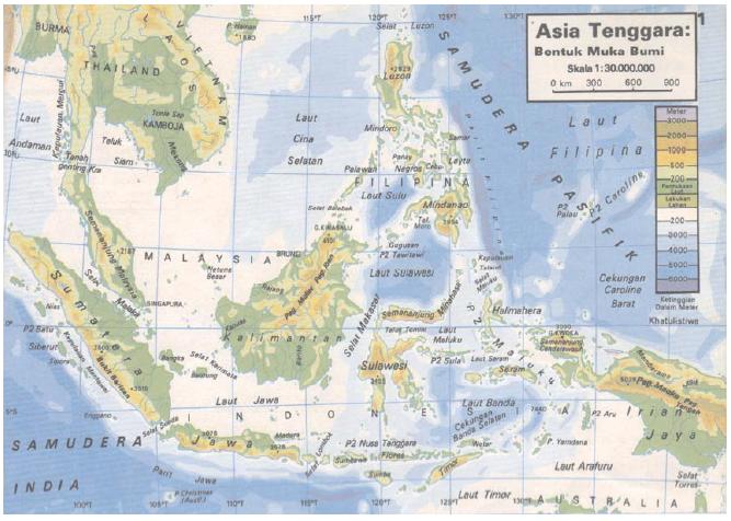 Sumber Daya Alam Kawasan Asia Tenggara Donisaurus Gambar Peta Terbaru