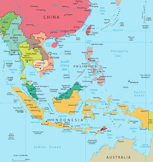 Letak Geografis Kawasan Asia Tenggara Donisaurus