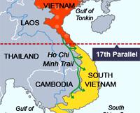 peta pembagian vietnam