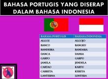 BAHASA PORTUGIS YANG DISERAP DALAM BAHASA INDONESIA