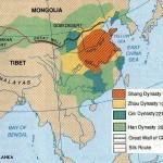 peta wilayah cina kuno