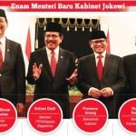 menteri-baru kabinet kerja