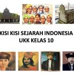 KISI KISI SEJARAH INDONESIA